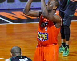 MSB - Asvel : 1/4 finale aller Playoffs 2015