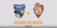 Résumé Jeep Elite 2017/2018 J24 CCRB vs MSB