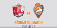 Résumé Jeep Elite 2017/2018 J26 JL Bourg vs MSB