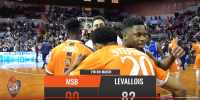 Résumé Jeep Elite 2017/2018 J25 MSB vs Levallois
