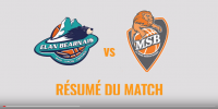 Résumé Jeep Elite 2017/2018 J28 Pau vs MSB