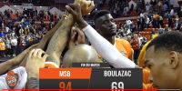 Résumé Jeep Elite 2017/2018 J30 MSB vs Boulazac
