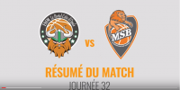 Résumé Jeep Elite 2017/2018 J32 Le Portel vs MSB
