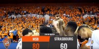 Résumé Jeep Elite 2017/2018 Playoffs Demi-Finales #3 MSB vs Strasbourg