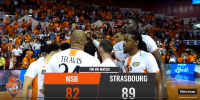 Résumé Jeep Elite 2017/2018 Playoffs Demi-Finales #4 MSB vs Strasbourg