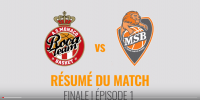 Résumé Jeep Elite 2017/2018 Playoffs Finale #1 Monaco vs MSB