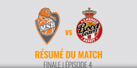 Résumé Jeep Elite 2017/2018 Playoffs Finale #4 MSB vs Monaco