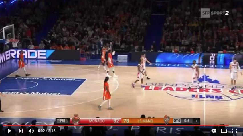Résumé Vidéo SFR SPORT - Leaders Cup Finale Monaco vs MSB