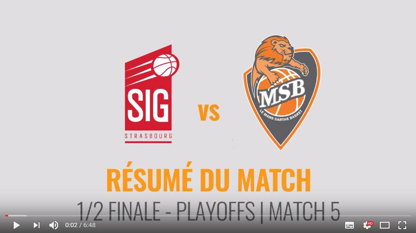 SIG vs MSB - Demi-Finale | #5