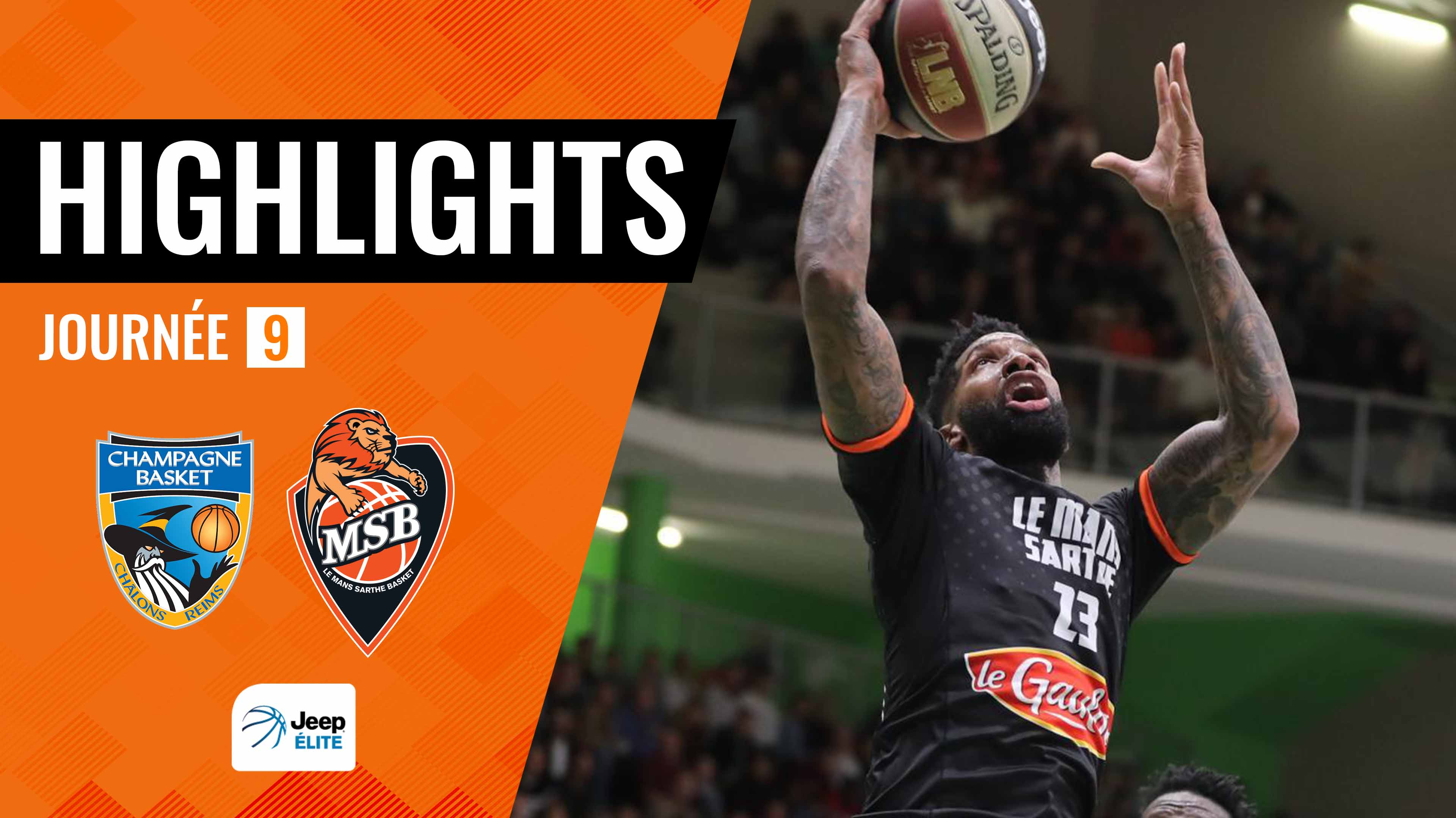 Highlights Châlons-Reims vs. MSB