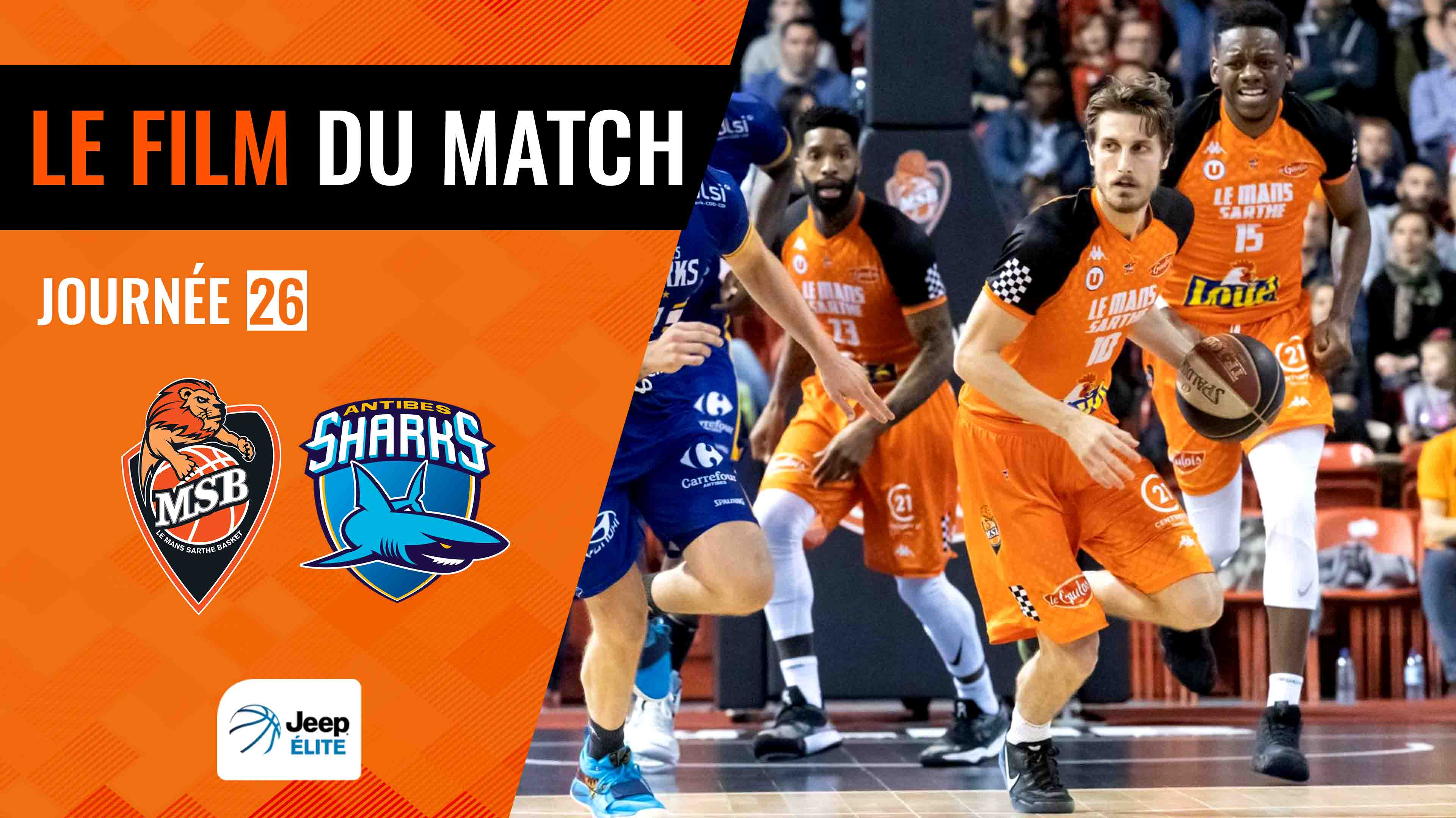 MSB vs. Antibes | Le film du match