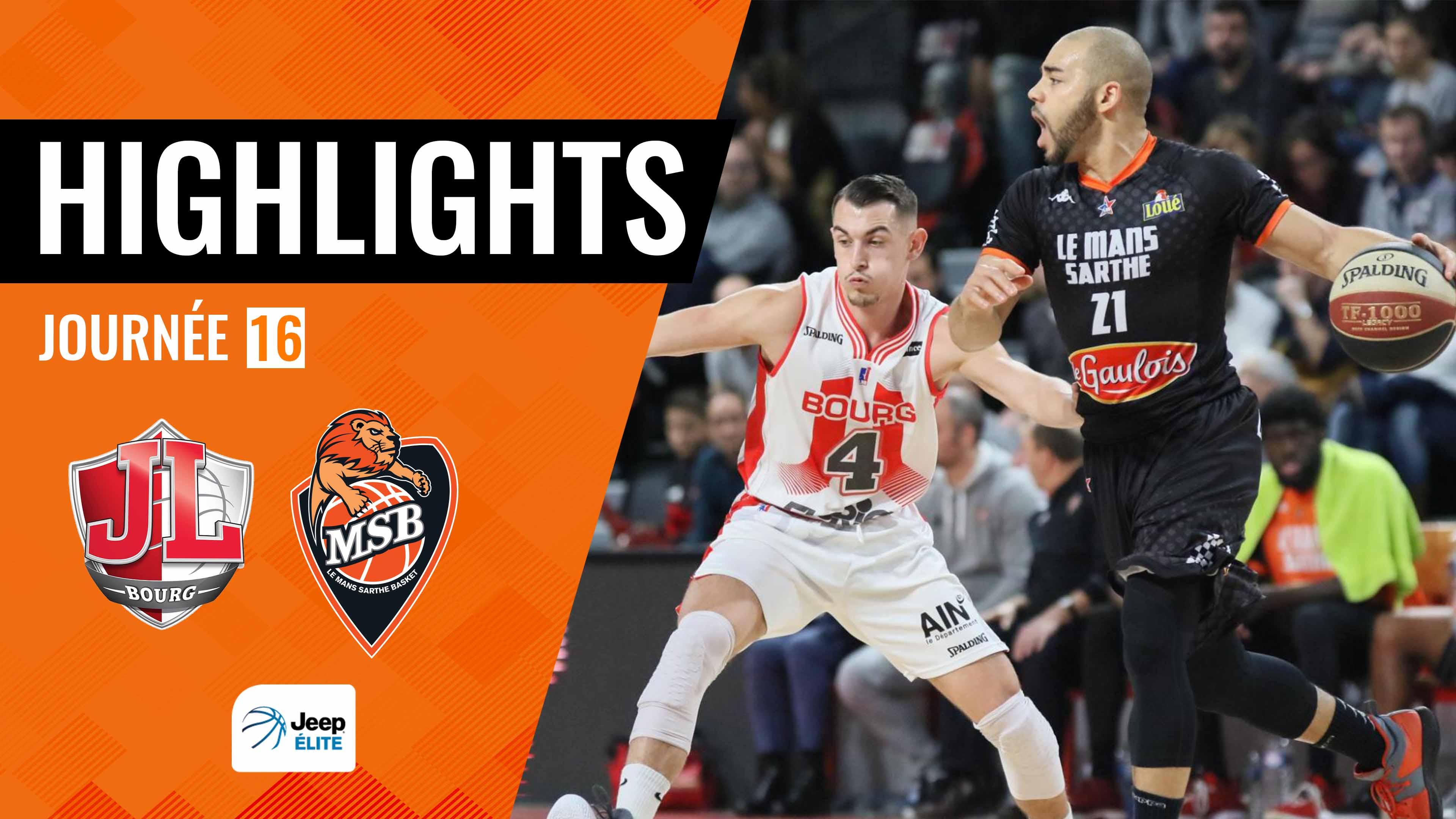 Highligths Bourg-en-Bresse vs. MSB