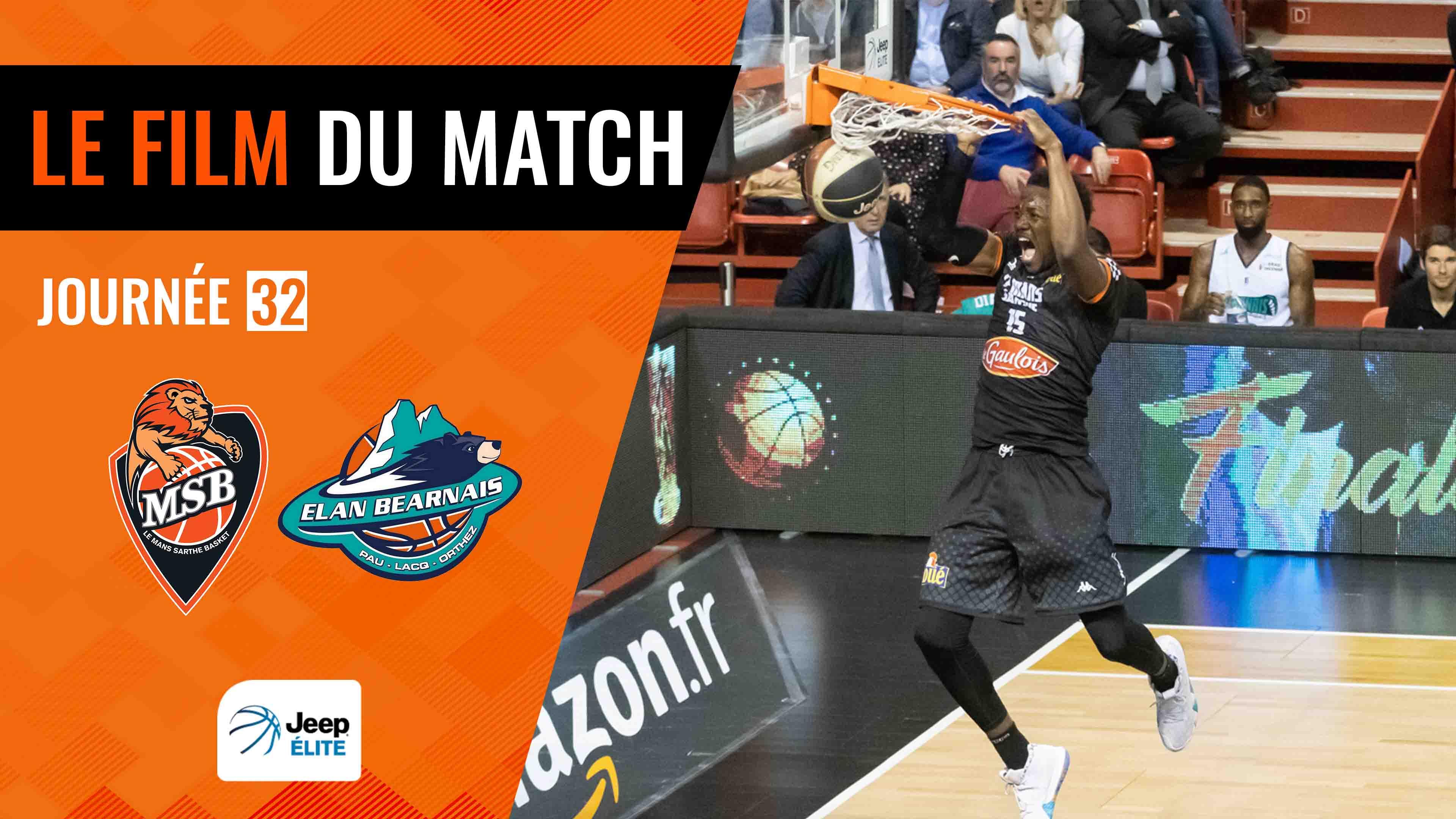 MSB vs. Pau-Lacq-Orthez   Le film du match