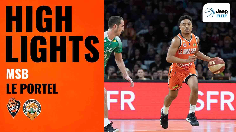 Le Portel - MSB   Highlights